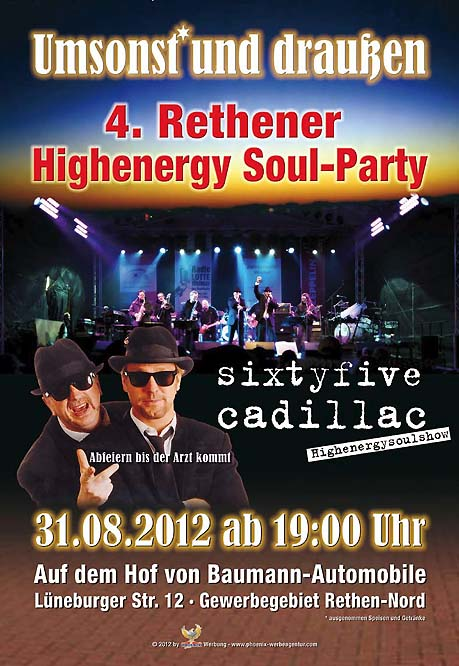 Rethener Highenergy Soul-Party
